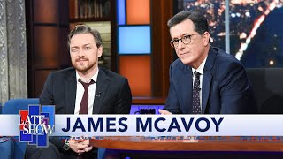 James McAvoy Plays Stephen Colbert's Lightning Round