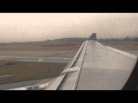 Delta Airlines - Landing Detroit Airport Airbus A330-300