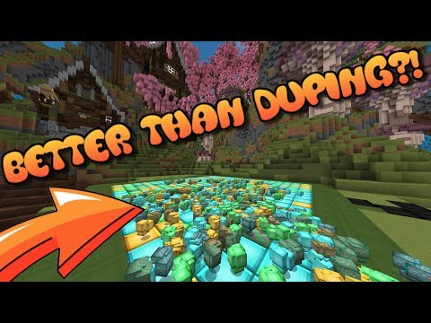 IS THIS BETTER THAN DUPING?! Minecraft OP Prison #1
