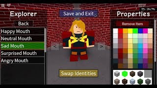 How to make captain marvel in roblox superhero life II