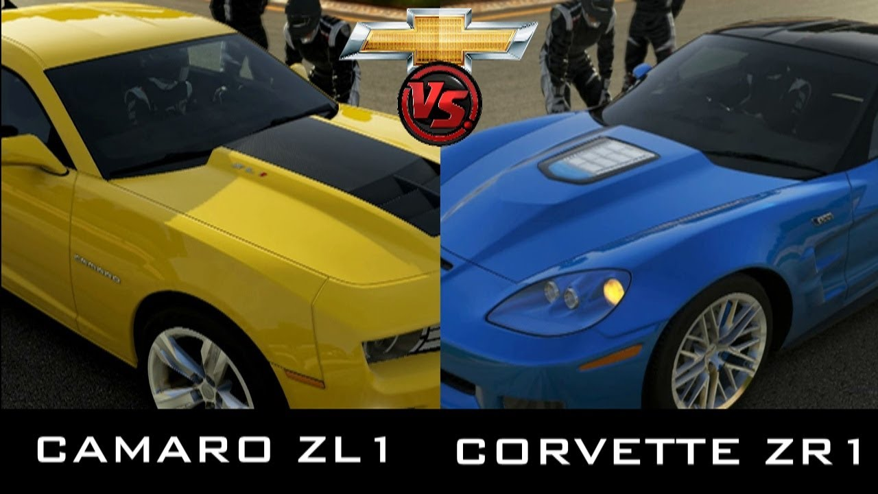 Forza 5 Chevrolet Camaro Zl1 Vs Corvette Zr1 Youtube