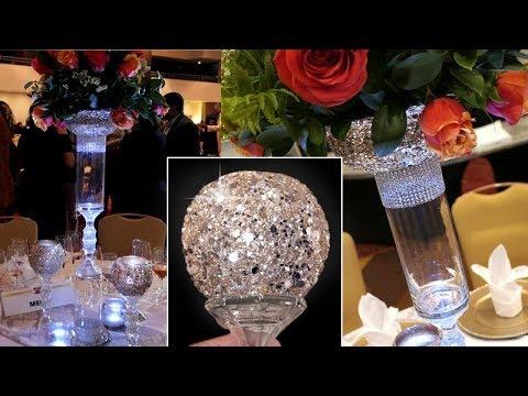 Sparkling Event Centerpieces
