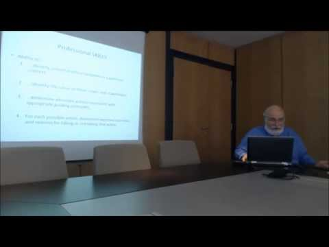 The Conscience of Computing Professionals: a Code of Ethics - Prof. Don Gotterbarn