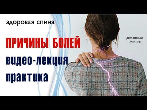 """Курс """"Здоровая спина"""" часть 1 / Почему болит спина и что с этим делать? / теория и практика"""