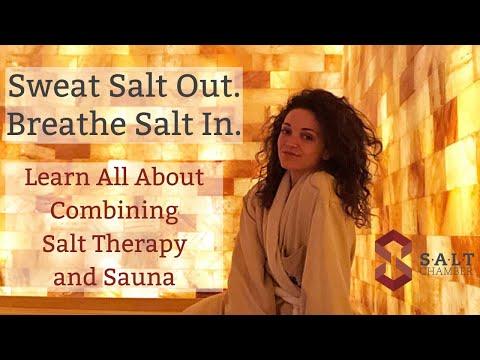 SALT Chamber: Combining Salt Therapy and Sauna