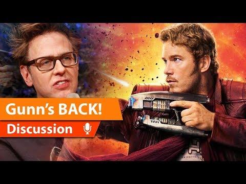 James Gunn Returns to the MCU & ITS A BIG DEAL