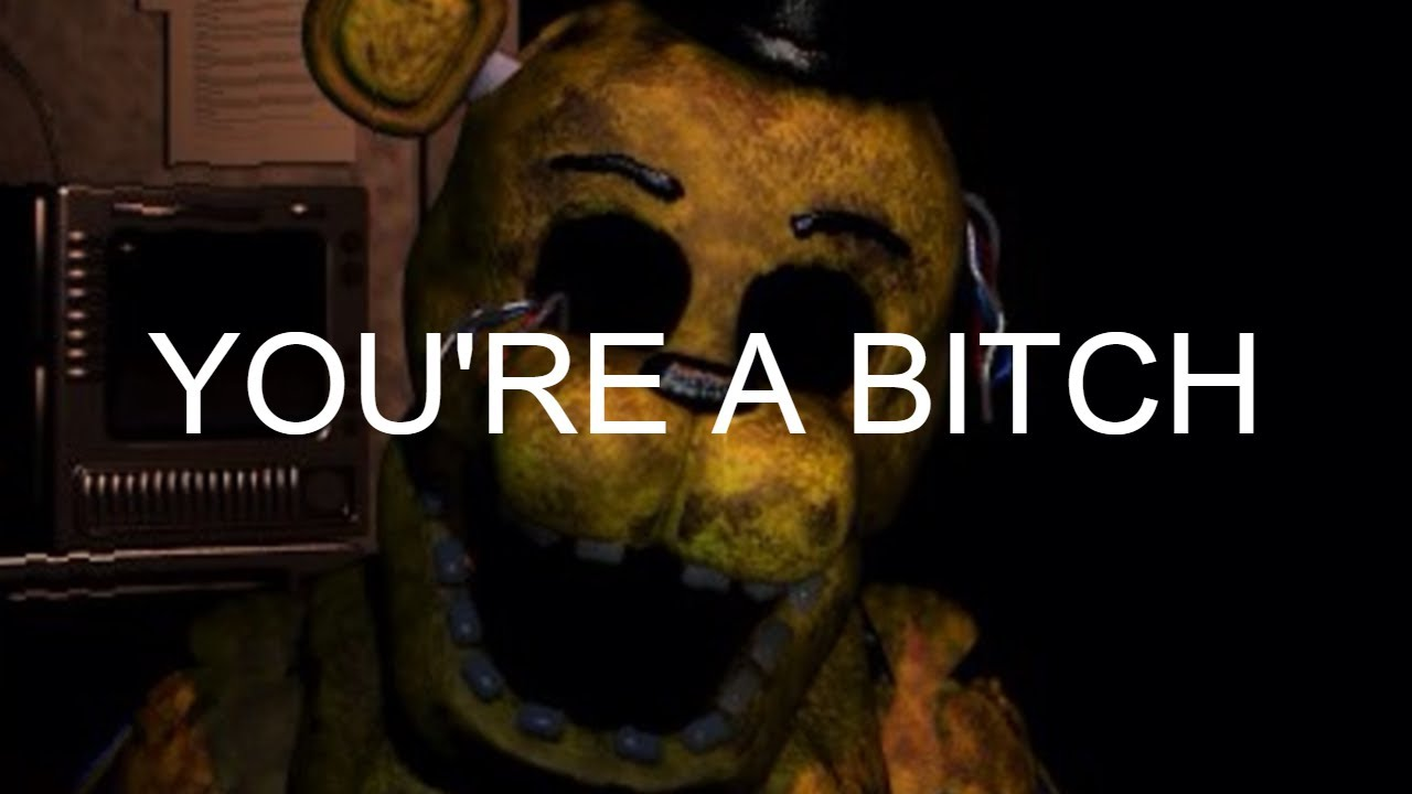 Golden Freddy Tries To Finger Me - Five Nights At Freddy's 2