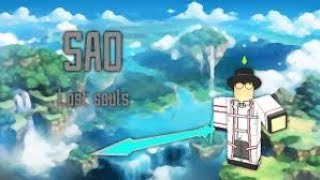 |Roblox|SAO:Lost Souls:Leveling With Friends