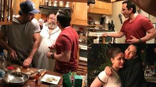 Repeat youtube video Ranbir Kapoor, Saif Ali Khan Turn Master Chefs For Kareena Kapoor