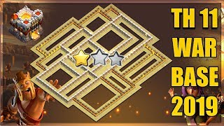 Unbeatable Th11 Best Anti 2 Star CWL Base + 2 Replays | Anti Everything | Clash of Clans