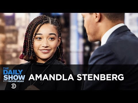 "Amandla Stenberg - Portraying Code-Switching in ""The Hate U Give"" 
