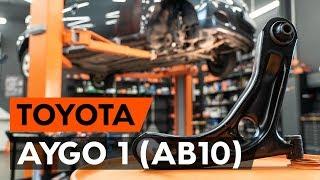 Τοποθέτησης Ψαλίδια αριστερά και δεξιά TOYOTA AYGO (WNB1_, KGB1_): δωρεάν βίντεο