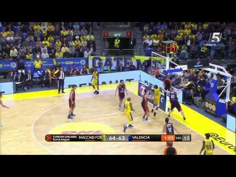 Euroleague Game 11: Maccabi FOX Tel Aviv 94 - Valencia 91