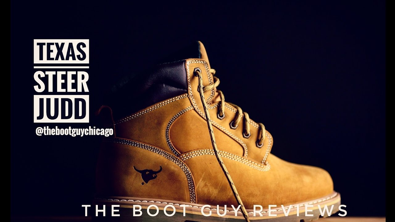 TEXAS STEER JUDD [ The Boot Guy Reviews