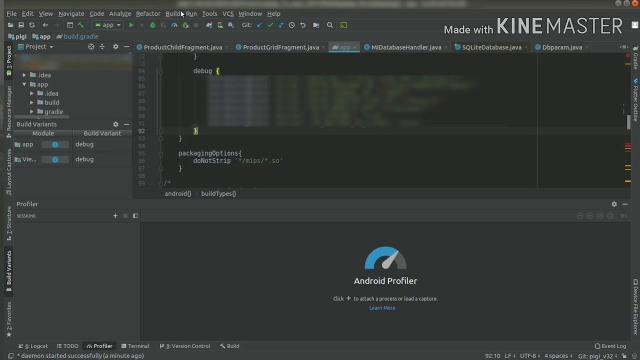 Network Profiler Tool (Android Studio)