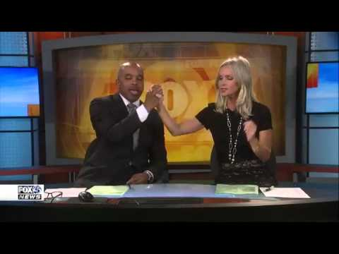 Control Room Busts Baltimore's FOX45 News Anchor Jennifer Gilbert Singing During A Break