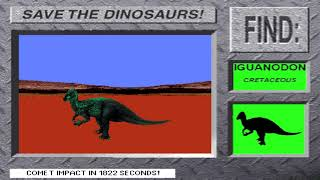 Save The Dinos! (HD) from 3-D Dinosaur Adventure MS-DOS/Packard Bell Version