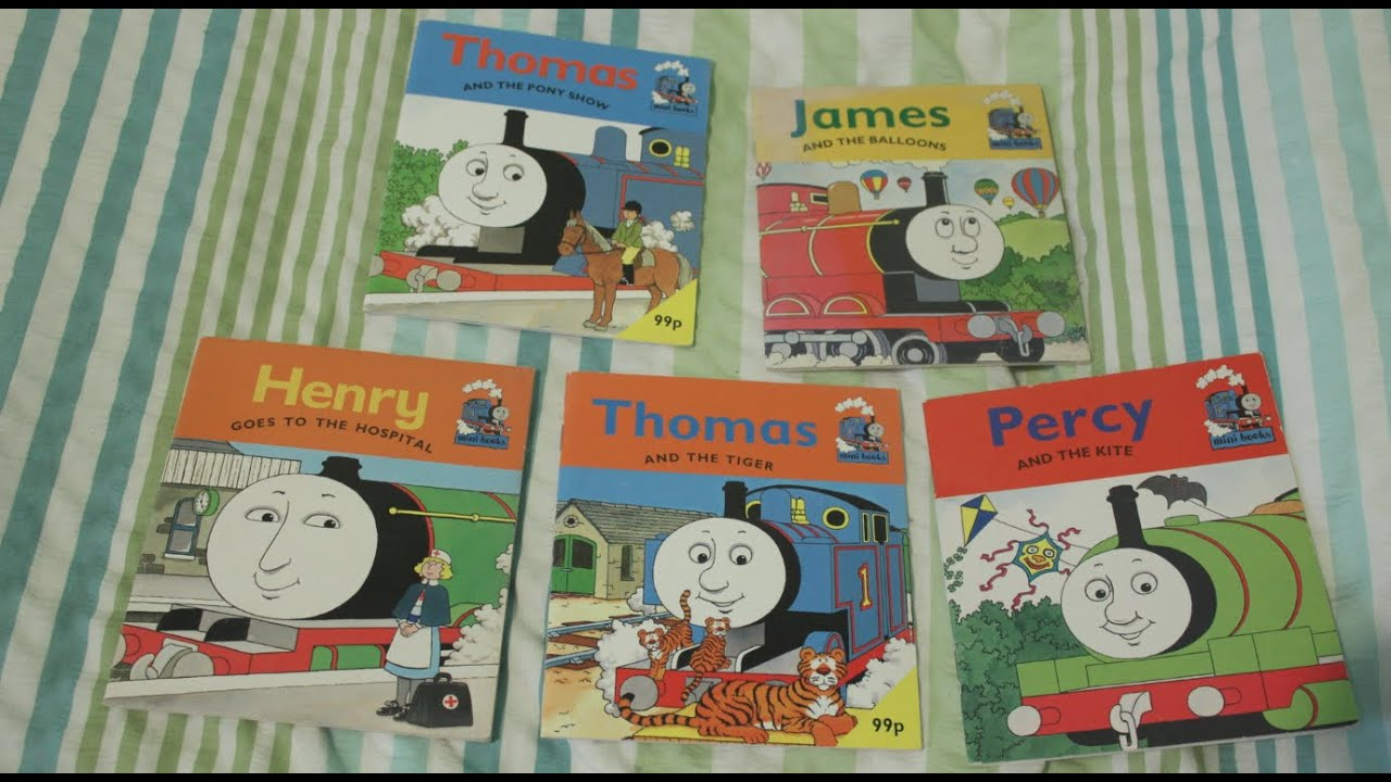 Hd Thomas The Tank Engine Book Collection Railway Series