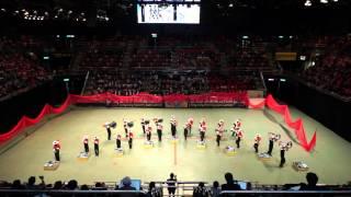 12 2015香港步操樂團公開賽 嗇色園主辦可藝中學步操樂團