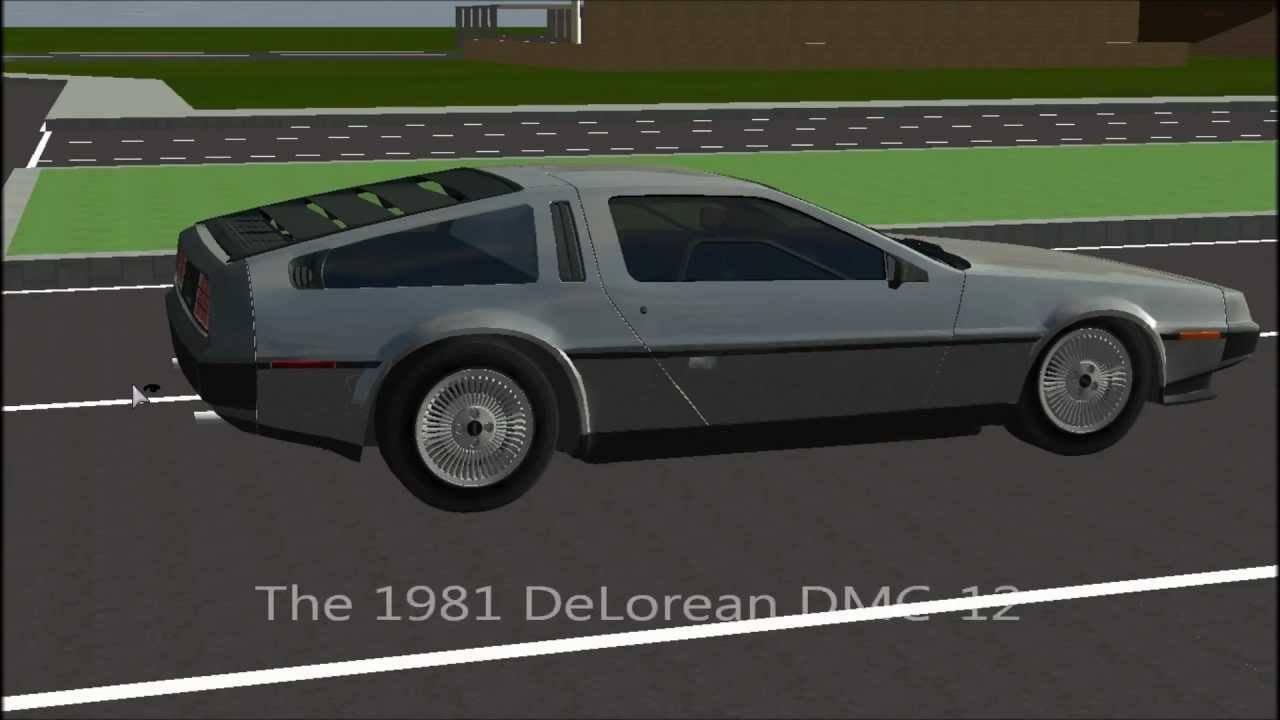 Delorean For Rigs Of Rods Youtube