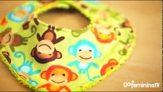 Nähschule mit Mirjam: Ein Halstuch fürs Baby selber nähen