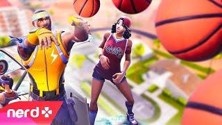 Fortnite | Basketball Trickshots | #NerdOut