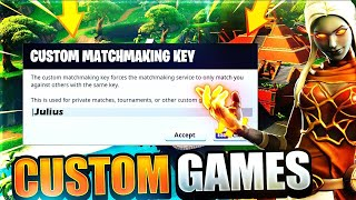 FORTNITE CUSTOM MATCHMAKING SCRIMS (NA EAST) *Live* Winners get Shoutouts