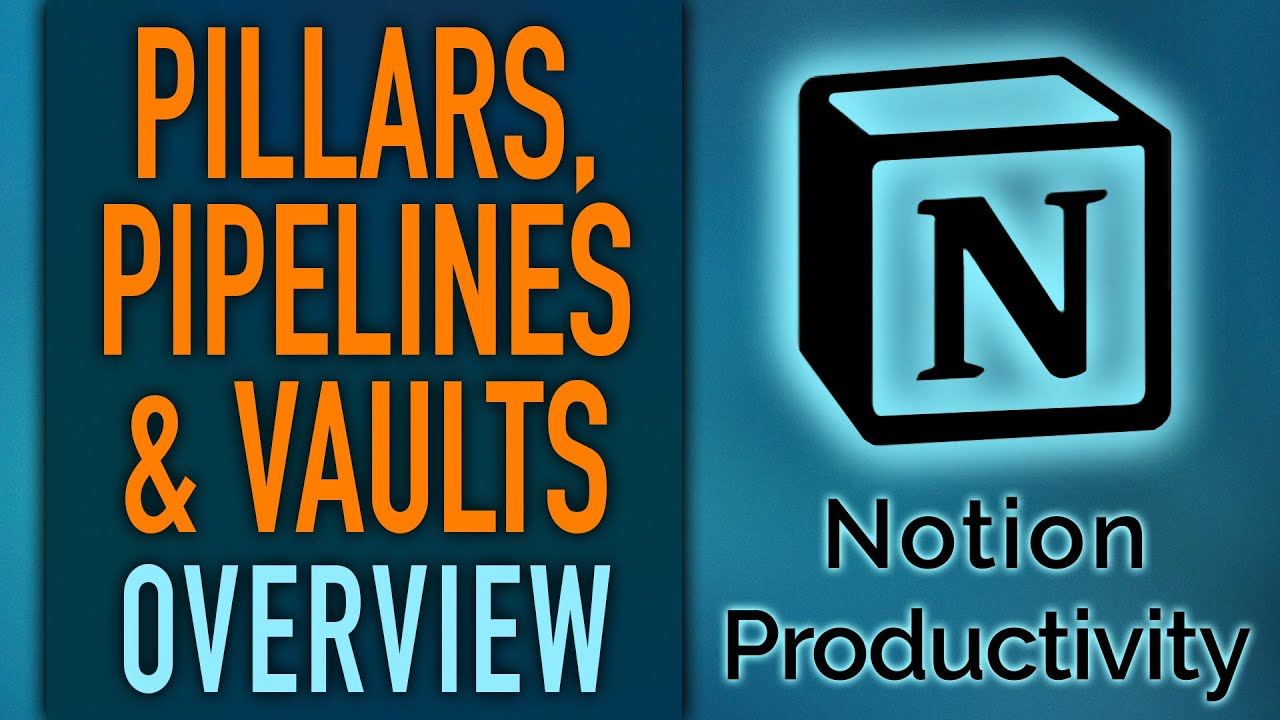 Intro & Overview of Pillars, Pipelines & Vaults – Notion Life Operating System