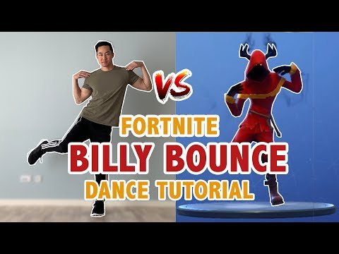 How To Do Fortnite Billy Bounce Dance (EASY) | Step-By-Step Dance Tutorial