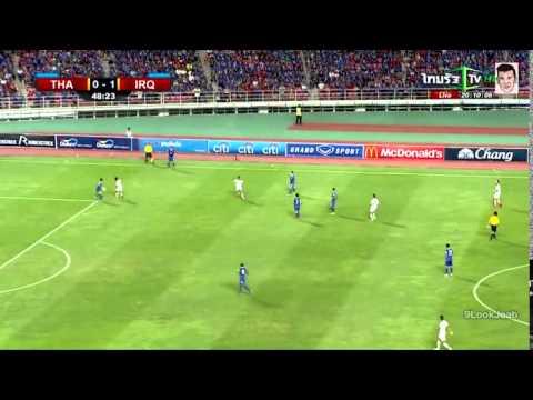 คลิปไฮไลท์ฟุตบอลโลกรอบคัดเลือก ทีมชาติไทย 2-2 อิรัก Thailand 2-2 Iraq