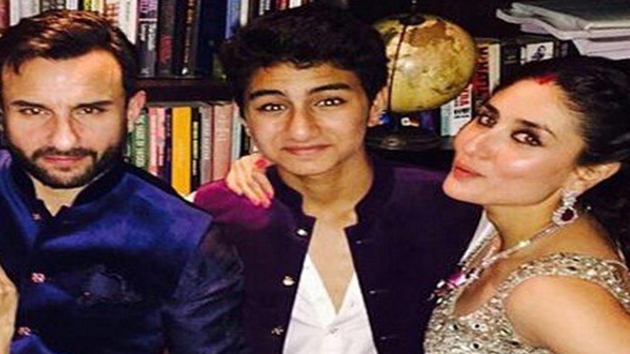 Saif Ali Khan's son Ibrahim Khan's DASHING Bollywood DEBUT ...
