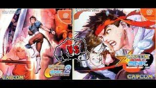 Capcom vs SNK 2000 vs Capcom vs SNK 2001 (Mini-review and Impressions) (Sega Dreamcast Import)