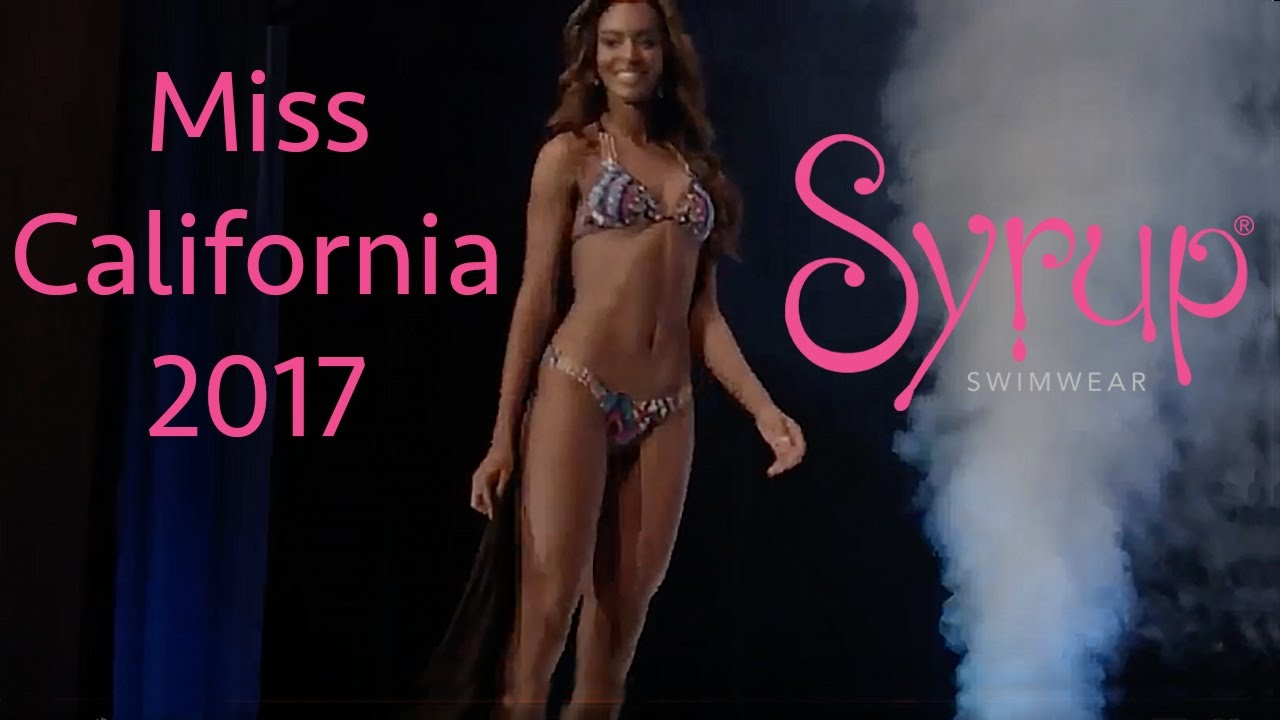 Miss california in bikini