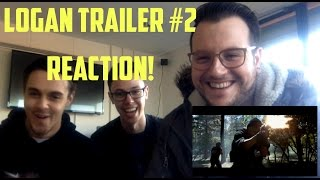 logan trailer 2 2017 reaction