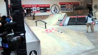 Andy Anderson runs at Damn Am Costa Mesa 2014