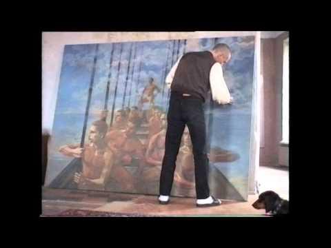 видео: Видеохроника современного искусства. Мастерская Георгия Гурьянова.