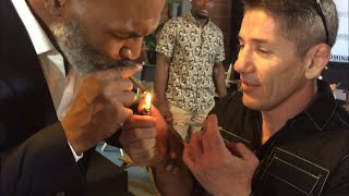MIKE TYSON GETS MMA FIGHTERS HIGHER THAN A KITE WITH HIS PERSONAL STASH AT TYSON RANCH