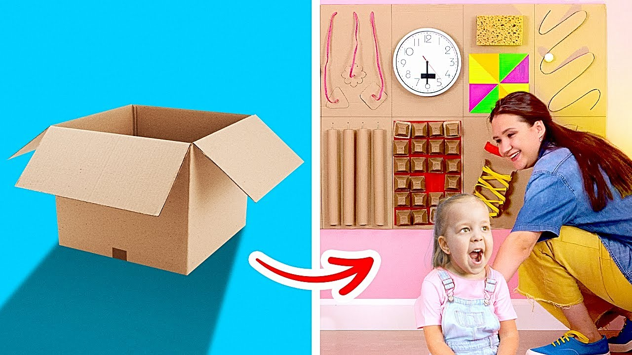 25 Useful Cardboard Crafts For Your Home