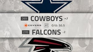 NFL Week 10 Betting Preview and Odds: Cowboys at Falcons