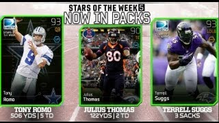 #MUT25 |  New Team Of The Week 5 Cards (TOTW) | Tony Romo, Terrell Suggs & More