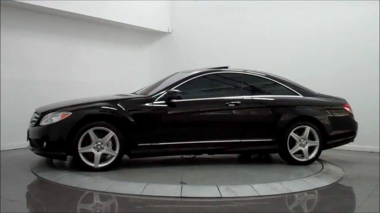 2010 mercedes benz cl550 4matic amg sport youtube