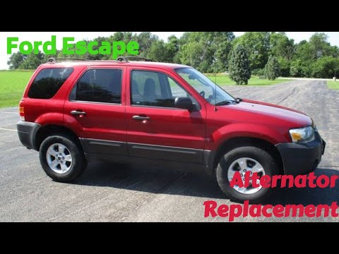 How To Remove A Ford Escape Alternator Removal The Easiest Way