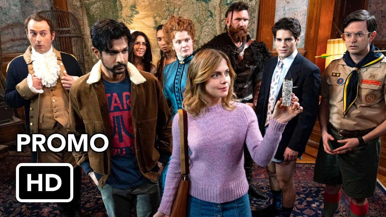 Download Ghosts (CBS) Promo HD - Rose McIver comedy series