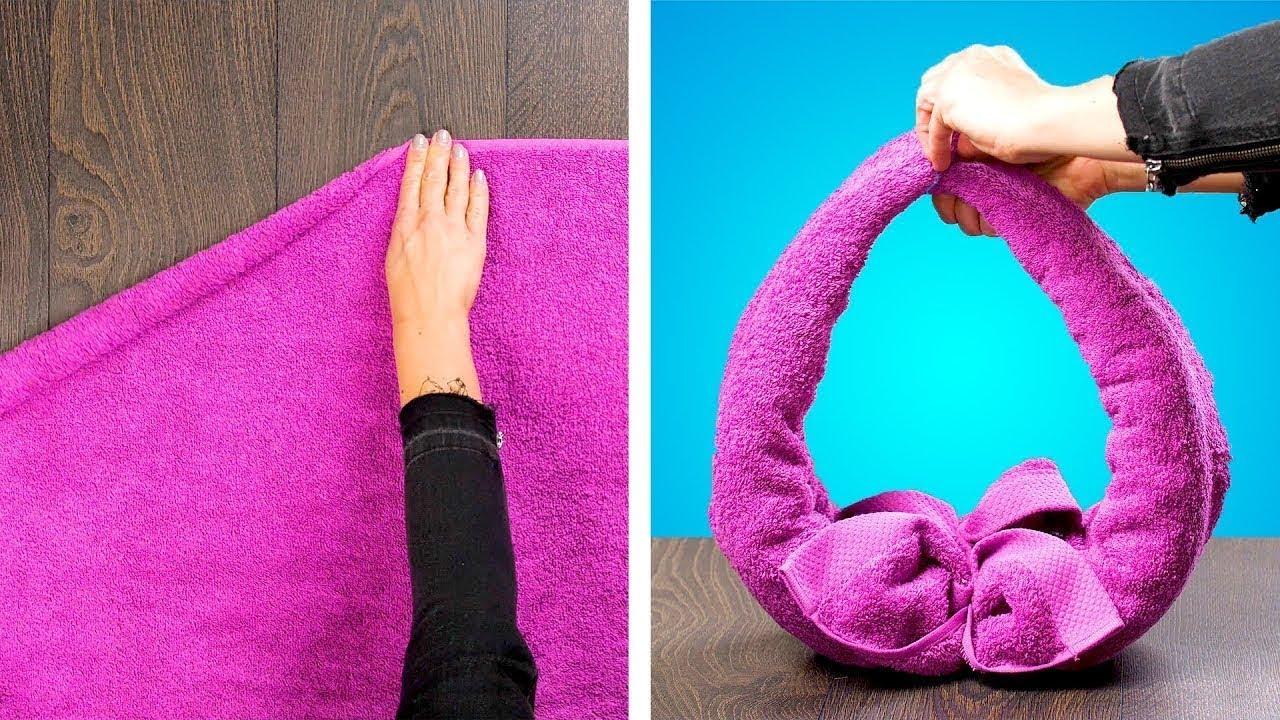 Comment Rouler Les Serviettes De Bain idÉes simples et crÉatives pour la salle de bain : pliage de serviettes