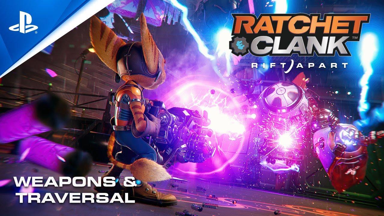 Ratchet & Clank: Rift Apart - Waffen und Geräte | PS5