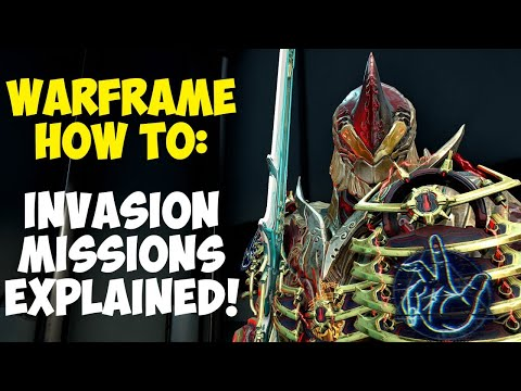 Warframe: Invasion Missions - You shouldn't miss them!!!