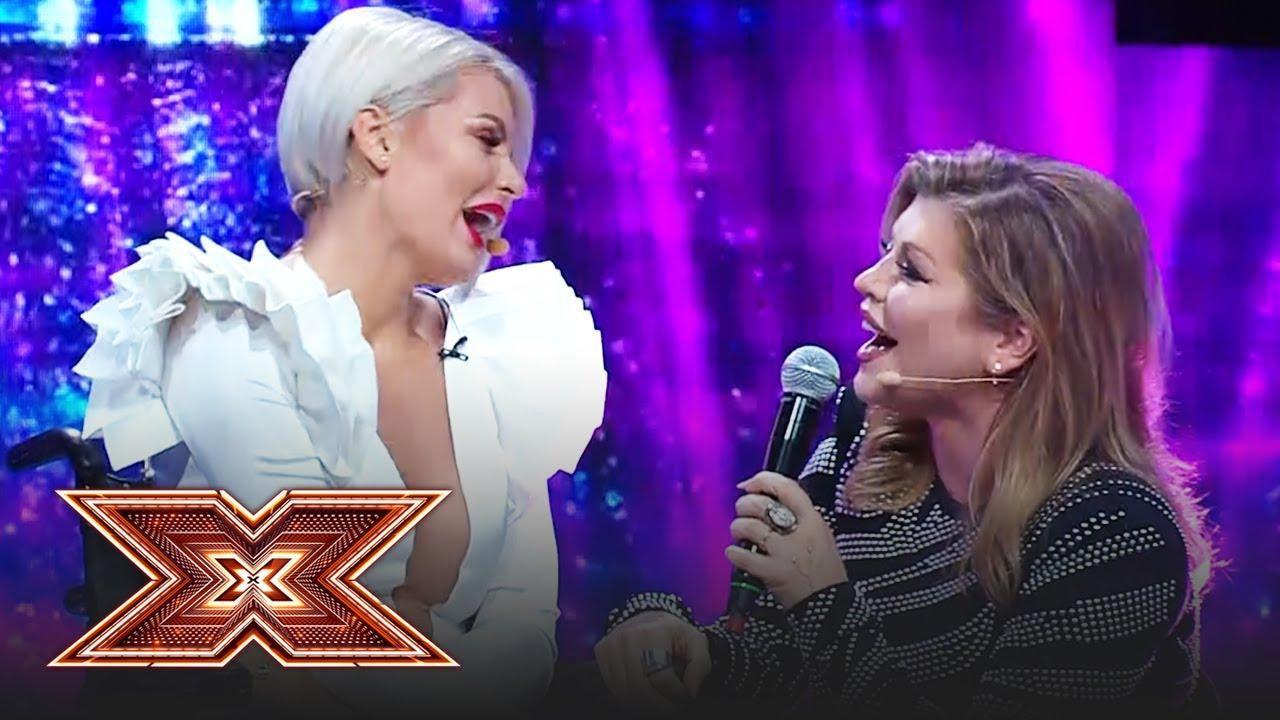 Cel mai emoționant moment! Ana Maria German, acompaniată de juriul X Factor!