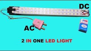 2 tane yapmak Haw ışık AC+DC ev Yapımı LED
