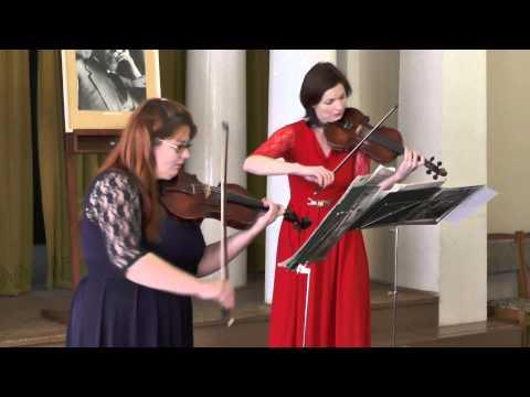 И.С.Бах. Концерт для двух скрипок ре минор Vivace