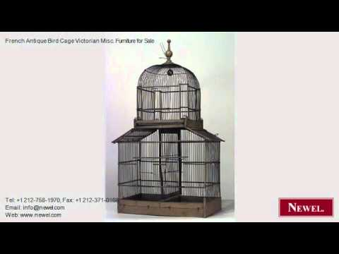 French Antique Bird Cage Victorian Misc. Furniture for